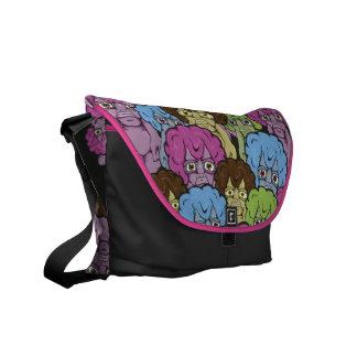 Strange People Messenger Bag