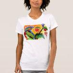 Strange Plants Orange Sky Shirt