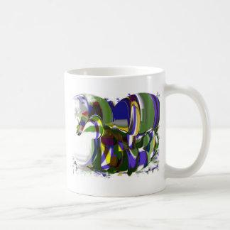 Strange Pony CricketDiane Art Products Coffee Mug