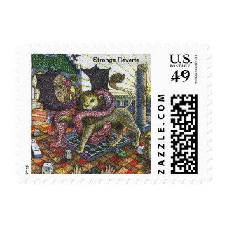 Strange Reverie US Postage Stamps