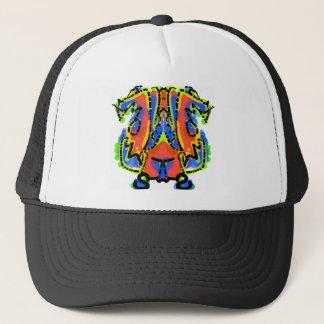 Strange Smiles Bear Logo Trucker Hat