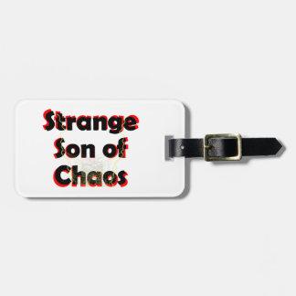 Strange Son Of Chaos Luggage Tag