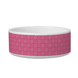 Strange Spiral Pattern Pet Food Bowls