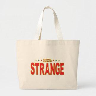 Strange Star Tag Canvas Bag