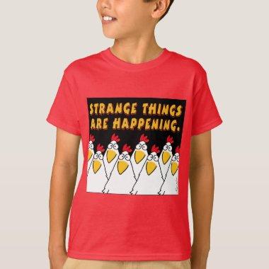 STRANGE THINGS ARE HAPPENING Sandra Boynton T-Shir T-Shirt