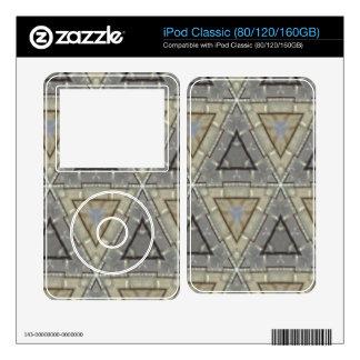 Strange triangle pattern iPod skins