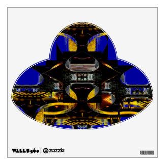Strange UFO ePoster CricketDiane Wall Sticker
