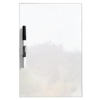 Strange unique landscape dry erase board