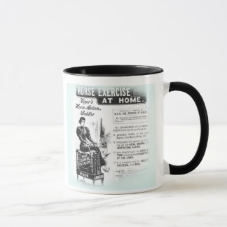 Strange Vintage WOMEN'S EXERCISE HORSE MACHINE Mug