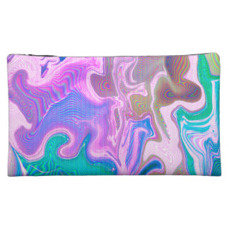 Strange Warp Medium Cosmetics Bag