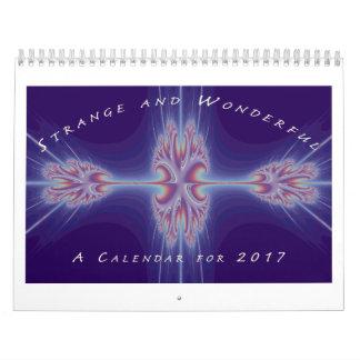 Strange & Wonderful Calendar
