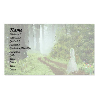 Strange Woods! Double-Sided Standard Business Cards (Pack Of 100)