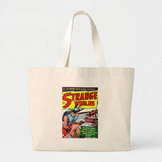 Strange Worlds #9 Jumbo Tote Bag