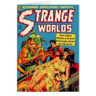 Strange Worlds -- Space Princess Card