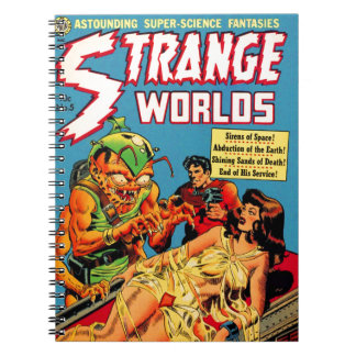 Strange Worlds -- Space Princess Notebook