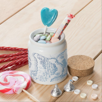 < Strange worldwide map - blue >Another world map Candy Jars
