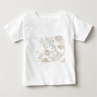 < Strange worldwide map - brown >Another world map Tee Shirt