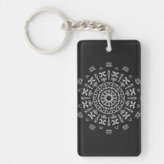 Strange Writing Keychain