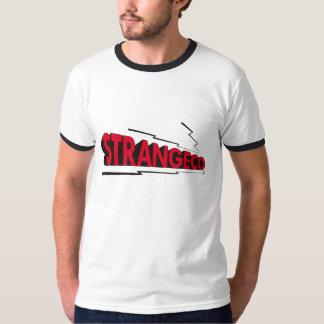 STRANGECO LOGO Ringer Tee (Red/Black)