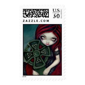 """Strangely Lonely"" Stamp"
