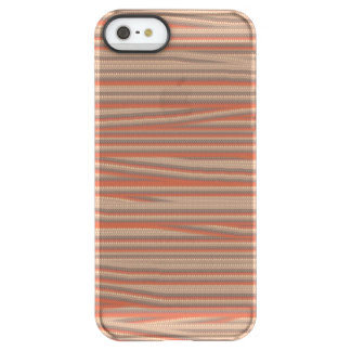 Strangely ugly pattern uncommon permafrost® deflector iPhone 5 case
