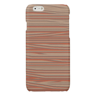 Strangely ugly pattern glossy iPhone 6 case