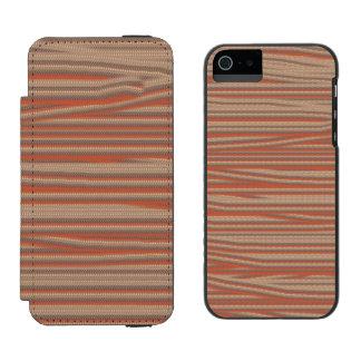 Strangely ugly pattern incipio watson™ iPhone 5 wallet case
