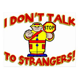 Stranger Danger Post Card