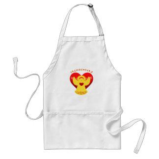 Stranger heart instead of stranger hate adult apron