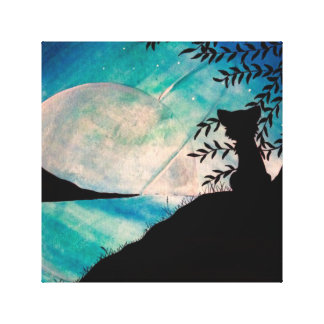 Stranger on this planet canvas