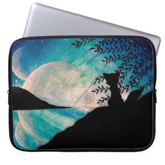 Stranger on this planet laptop sleeve case