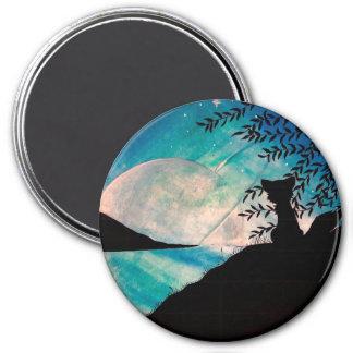 Stranger on this planet large round magnet