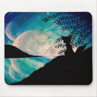 Stranger on this planet mouse pad