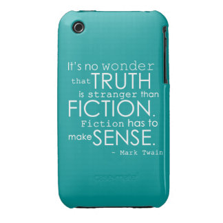 Stranger Than Fiction Moden Quote Phone Case iPhone 3 Cover