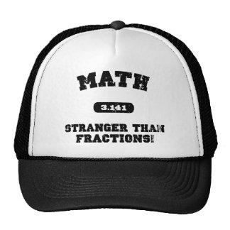 Stranger Than Fractions Trucker Hats
