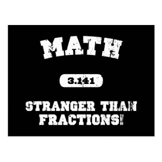 Stranger Than Fractions! Postcard