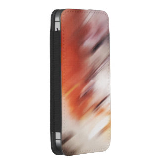 """""""Strangers"""" abstract painting iPhone SE/5/5s/5c Pouch"""