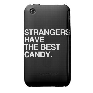 STRANGERS HAVE THE BEST CANDY iPhone 3 CASE