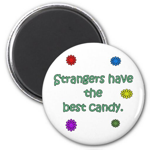 Strangers Have The Best Candy Fridge Magnets