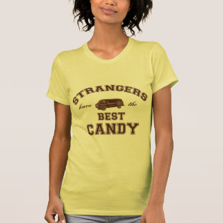 Strangers have the best candy tee shirts