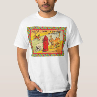 Strangers in town t-shirt