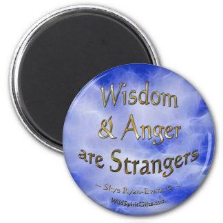 """""""Strangers"""" Motivational Poetry Magnet"""