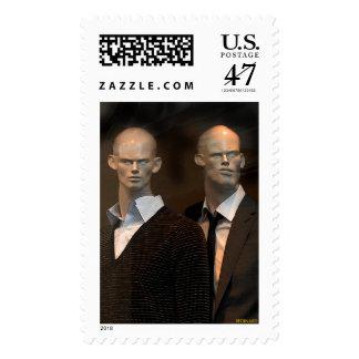 Strangers Postage Stamp