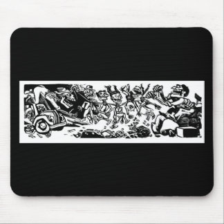 """""""Strangler Calaveras"""" circa 1942 MEXICO Mouse Pad"""