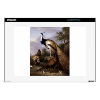 STRANOVER, Tobias birds peacock animals vintage Laptop Skins