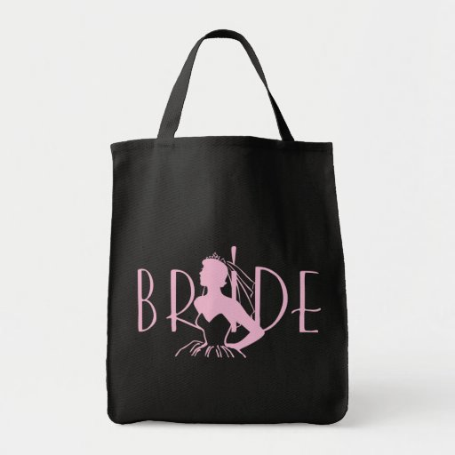 Strapless Bride Grocery Tote Bag