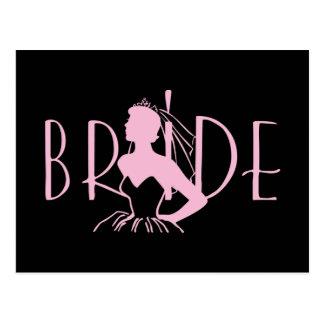 Strapless Bride Post Card