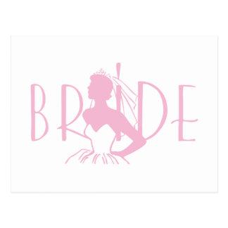 Strapless Bride Postcard
