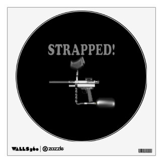 Strapped Wall Decal