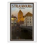 Strasboug - Ill River and St Thomas Greeting Card
